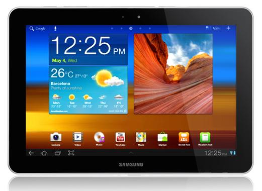 Wynajem tabletów Samsung